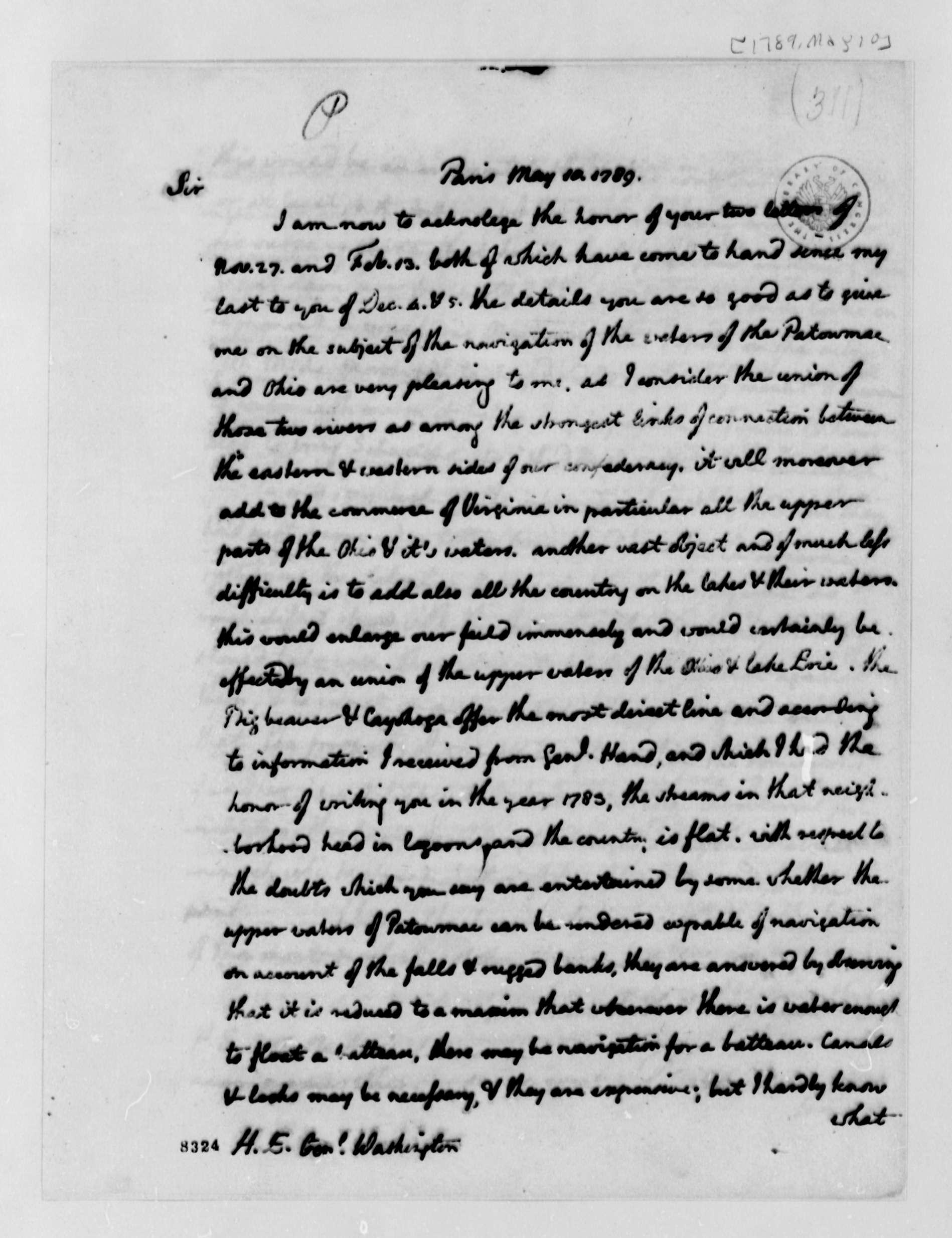 1789 George Washington Jef A